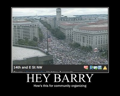 Hey Barry. How's this for community organizing?