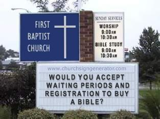 Church Sign Rights