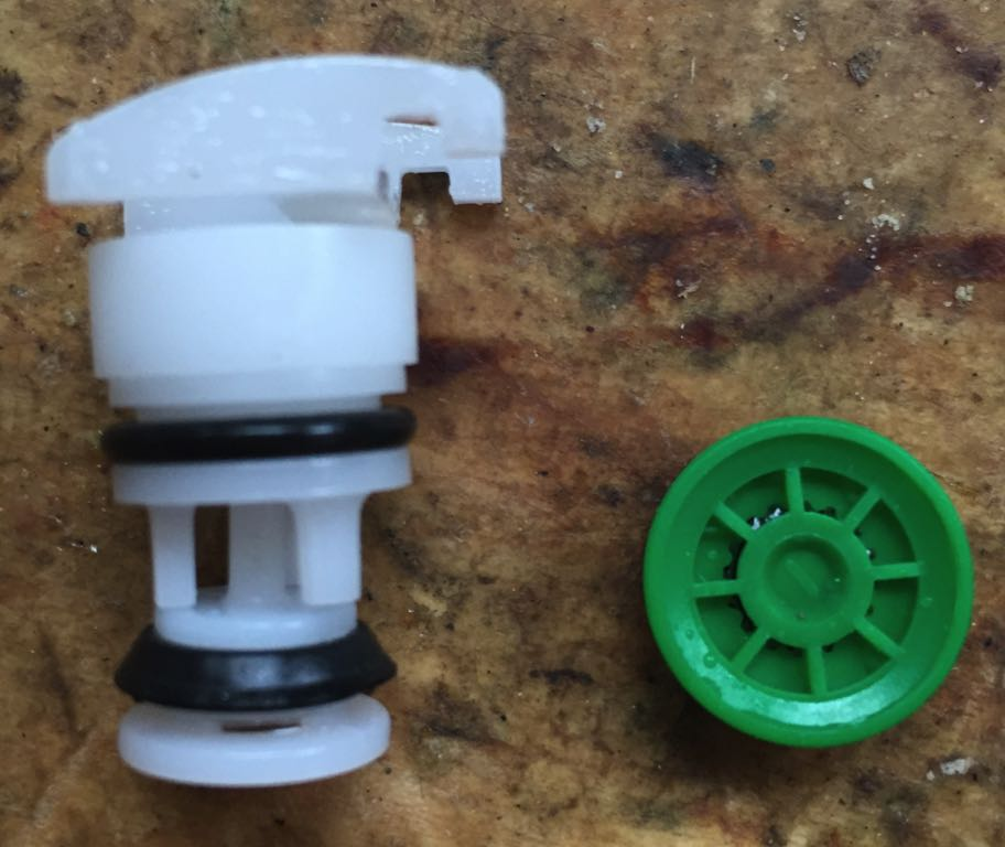 Faucet Valve and Flow Limiter