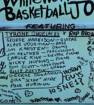 Basketball Jones credits