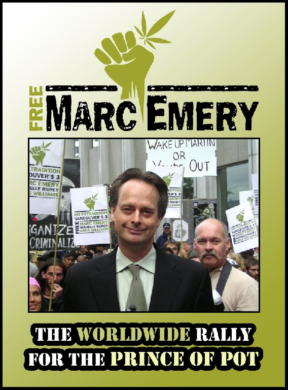 Free Marc Emery: Rally for the Price of Pot
