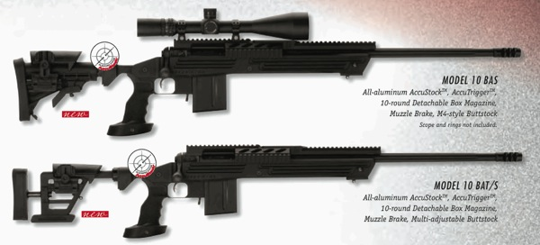 New Precision .308 Bolt Action Sniper Rifles from Savage Arms