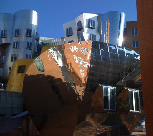 Back of Stata Center
